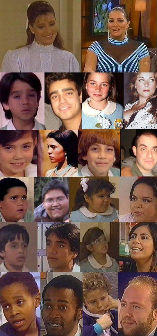 ... de 1989, ia ao ar pela Televisa, no México, o primeiro capítulo da